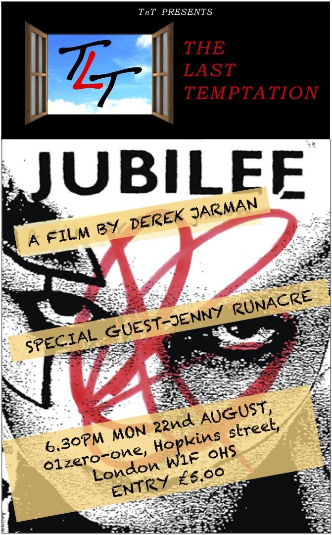 Jubilee Flyer -Aug